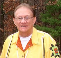 Dennis Kenote, a Menominee and member of the Menominee Clans Committee