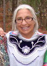 Karen Hoffman is a member of the Oneida Nation and a member of the Menominee Clans Committee